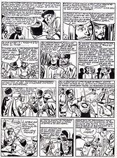FULGOR (BILD) SUPERBE  PLANCHE ORIGINALE ARTIMA  ANNEES 1950 PAGE 4