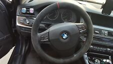 Alcantara Steering Wheel Cover for BMW 2010 - 2016 BMW 528i / F10
