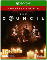 The Council Complete Edition Xbox ONE **FREE UK POSTAGE!!** NEW UNSEALED