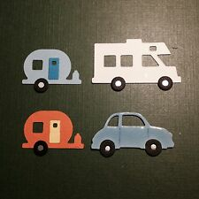 Motor Home Motorhome Caravanette Caravan RV Holiday Travel die cuts