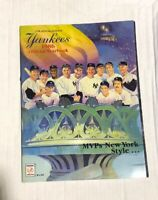 1986 New York Yankees Official MLB Yearbook Program MVPs New York Style Rare