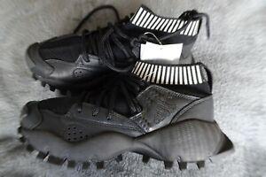 Adidas originals seeulater prime knit trekking/trainers in black size uk5