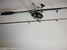 New 6 ft 2 Section Spinning Fishing Rod + Reel  Free P&P!!