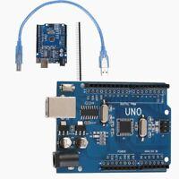 UNO R3 ATmega 328P carte de pilote USB CH340G et câble USB gratuit pour Arduino.
