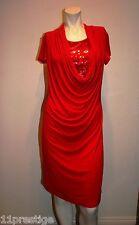ISABELLA RODRIGUEZ  DRESS  SEQUIN DETAIL SHORT SLEEVE RED 6