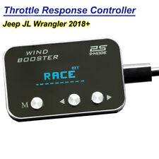 Throttle Response Controller Pedal Booster Commander for Jeep JL Wrangler 2018+