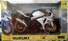 2004 Suzuki GSX R 1000 Super Bike 1:12 Aoshima 88494