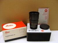 """Leitz 11136 - Leica Summicron-M 1:2/90mm schwarz """"Sammlerstück boxed"""" - TOP!"""