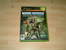 MARVEL NEMESIS RISE OF THE IMPERFECTS......MICROSOFT XBOX & 360 GAME PAL