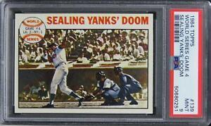 1964 Topps World Series Game 4 SEALING YANKS' DOOM #139 PSA 9 MINT