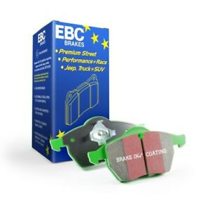 EBC Brakes Greenstuff Front Brake Pads For Ford 99-04 F-250/F-350 Super Duty