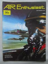 AIR ENTHUSIAST 9/1972 SOAF OMAN SEPECAT JAGUAR ME-163 KOMET C-3605 SHORT FAIREY