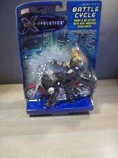 X-MEN EVOLUTION SABRETOOTH BUMP & GO BATTLE CYCLE FIGURE 2001 TOY BIZ NEW NIB