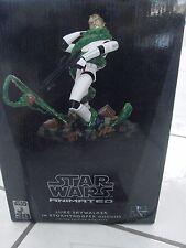 Star Wars Gentle Giant Animated Luke Skywalker in Stormtrooper Disguise limited