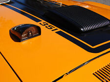 Ford Mustang Mach 1 351 428 Bonnet Stripes 1970 70 Shaker Hood Stripe Stencil V8