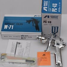 Anest Iwata manual spray gun W-71 1.0, 1.3 1.5 1.8mm nozzle