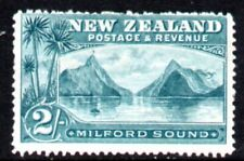 New Zealand Two Shillings Milford Sound SG ? Mint No Gum