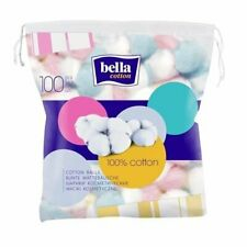 Bella COTTON BALLS SWABS 100 PCS 100% cotton for baby and mom Bella