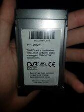 DVB PCcard Aston Seca TVSat Digital Video Broadcasting P/N: 901274