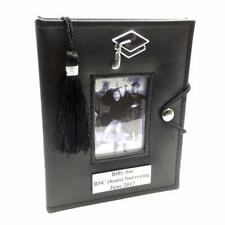 Personalised Black Graduation Photo Picture Album with Tassel 77842-P
