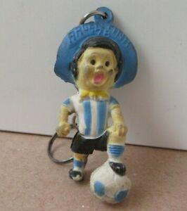 Vintage Rare Argentina 78 World Cup 1978 Mascot Gauchito Football Keychain