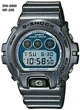 Casio G-Shock DW-6900MF-2 Metallic Finish Blue Strap Watch Rare