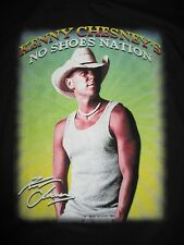 "2013 Kenny Chesney ""No Shoes Nation"" Concert Tour (Lg) T-Shirt"