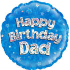 """Sparkly 18"""" Family Member Happy Birthday Foil Helium Balloon Party Decorations"""