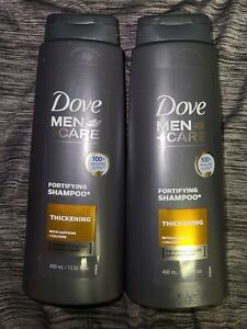 (2) Dove Men+Care Fortifying Shampoo  Thickening