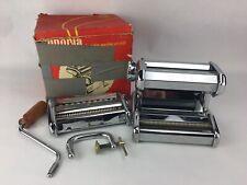 Imperia Pasta Maker Machine - Heavy Duty Steel Model 150 Made in Italy