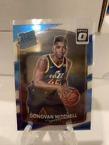 2017-18 Donruss Optic #188 Donovan Mitchell Jazz RC Rookie
