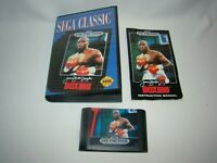 Sega Genesis James Buster Douglas Knockout Boxing game cartridge w/ case, manual
