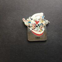 WDW - Monorail TINA Name Pin FAB 4 Mickey Minnie Goofy Donald Disney Pin 15004