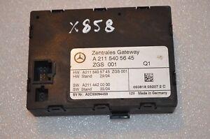 X-858 MERCEDES CENTRAL GATEWAY CONTROL MODULE A2115405645  A2115405745