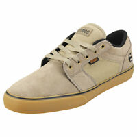 Etnies Barge Ls Mens Olive Suede & Textile Skate Trainers