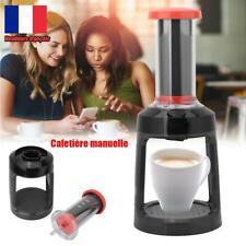 Cafetière à Pression Manuelle préparation 30 secondes - Café rapide sans électr