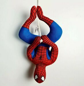 SPIDERMAN 2008 MARVEL Hangable Upside Down 22cm Plush Toy