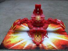 Bakugan 610G Coredem Red Pyrus Gundalian Invaders DNA