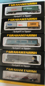 5 Various pieces of Graham Farish freight /coaching  rollingstock  #2