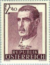 EBS Austria Österreich 1957 Julius Wagner-Jauregg ANK 1041 MNH**