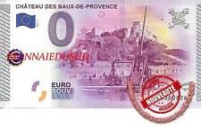Billet Touristique 0 Euro 2015 - Château des Baux-De-Provence