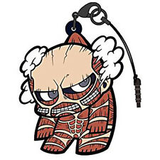 Attack on Titan Colossus Tsumamare Phone Strap Dust Plug Cospa Pinched Charm