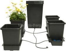 4 Pot Growing System. Auto pot growing System, No pumps or timers needed