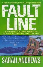Fault Line-Sarah Andrews-Em Hansen Mystery #5-combined shipping