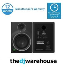 """2 x Mackie MR6 mk3 6.5"""" Powered Active Studio Mixing Reference Monitor"""