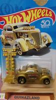 Hot Wheels Pass'N Gasser 50TH Anniversary Gold  (N28)
