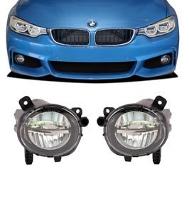 Bmw F30 F31 F32 F33 clear LED L.E.D. foglamps foglights Fogs fog lamps lights UK
