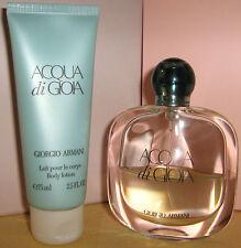 GIORGIO ARMANI Acqua di Gioia Eau de Parfum 50 ml + 75 ml Body Lotion NEU