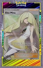 Elsa-Mina GX - SL4:Invasion Carmin - 110/111 - Carte Pokemon Neuve Française