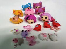 20 Pc Lalaloopsy Pencil Toppers Crumbs Dot Bea Berry Mittens Pets Doubles NEW!